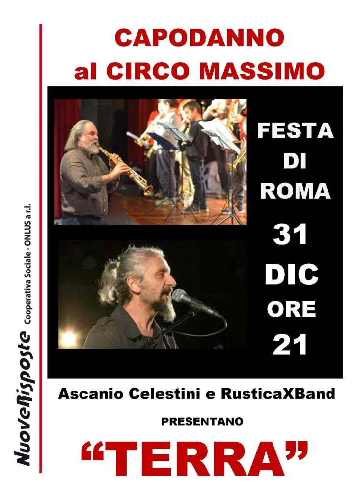 La RusticaXBand apre il concerto del 31 dicembre al Circo Massimo
